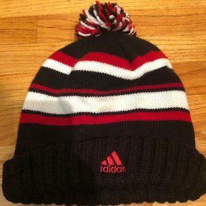 Adidas Red/White/Black Beanie Unisex One Size Fits